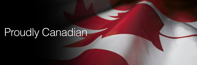 Canadian, and proud.  Since 1971.
